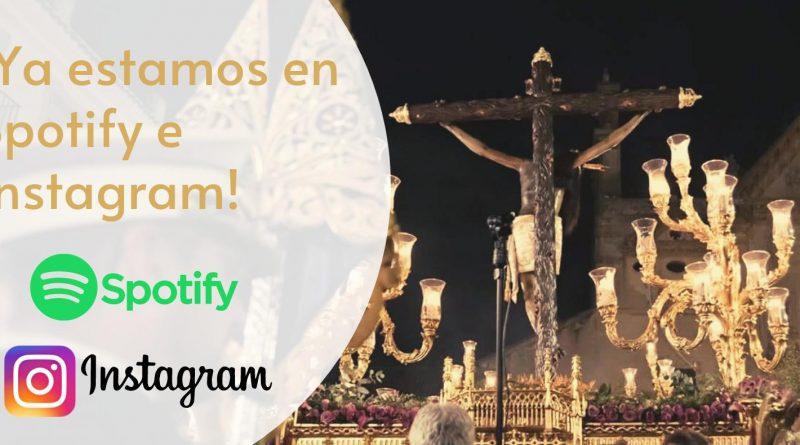 ¡La música de Cristo de Gracia, ahora disponible en Spotify e Instagram!